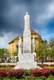 Monument to the emperor Jovan Nenad in Subotica city, Serbia Stock Image