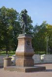 Monument to Emperor Pavel the First in Gatchina Stock Images