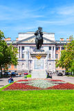 The Monument to Emperor Peter the Great in front of St. Michael's Castle, Saint-Petersburg Royalty Free Stock Image