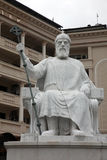 Monument to Emperor Samuil in Skopje Royalty Free Stock Photos