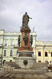 Monument to Empress Catherine the Great in Odessa Royalty Free Stock Photo