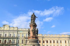 Monument to Empress Catherine the Great in Odessa center Stock Photo