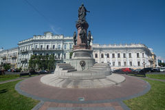 Monument to Empress Catherine Royalty Free Stock Photos