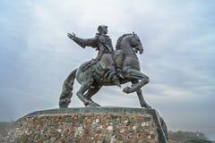 Monument to Empress Elizabeth, BALTIYSK Stock Photo
