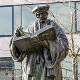 Monument to Erasmus of Rotterdam, Netherlands Desiderius Erasmu Royalty Free Stock Photo