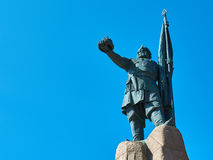 Monument to Ermac. In Novocherkassk, Russia Stock Photos