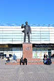 Monument to Ernst Telman - German communist leader in Moscow Royalty Free Stock Photography