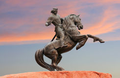 Monument to Evpatiy Kolovrat in Ryazan Royalty Free Stock Photography