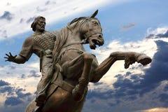 Monument to Evpatiy Kolovrat in Ryazan Royalty Free Stock Image