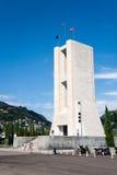 Monument to the fallen, Como Royalty Free Stock Photos