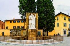 Monument to fallen heroes in Carceri, Prato, Italy Stock Photo