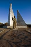 Monument to fallen sailors in Nakhodka city. Royalty Free Stock Photos
