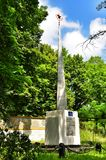 Monument to fallen soldiers during the Second World War the USSR with fascists Royalty Free Stock Photography