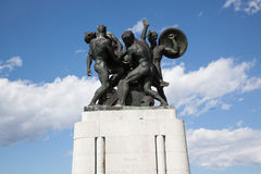 Monument to the fallen soldiers of Trieste Royalty Free Stock Photos