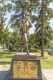 Monument to the famous football player Alex de Souza Fenerbahce Istanbul Stock Images