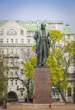 Monument to the famous ukrainian poet Taras Shevchenko in Kyiv, Stock Photo