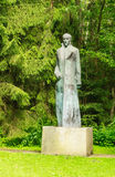 Monument to Felix Dzerzhinsky. Grutas Park Stock Photo