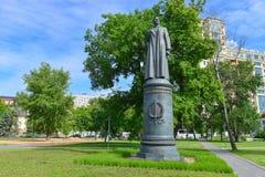Monument to Felix Dzerzhinsky Royalty Free Stock Photo