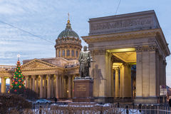 Monument to Field Marshal Barclay de Tolly, St. Petersburg Stock Image