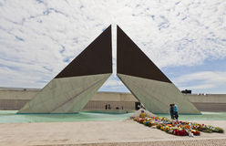 Monument to the Fighters Overseas in Lisbon, Portugal Stock Photos