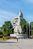 Monument to fighters for the Polishness of Opole Silesia Royalty Free Stock Photo
