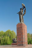 Monument to the Fighters of the Revolution Stock Images