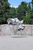 Monument to Finnish composer Jan Sibelius Royalty Free Stock Photo