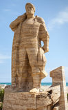Monument to fisherman in Calafell Royalty Free Stock Image