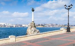 Monument to the Flooded Ships, Sevastopol Royalty Free Stock Photos