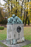 Monument to the founder and the first director of the Konigsberg Royalty Free Stock Images