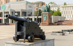 Monument to the founders of Novorossiysk. Russia. Royalty Free Stock Image