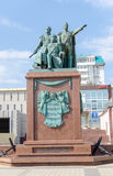 Monument to the founders of Novorossiysk. Russia. Stock Photography