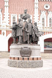 Monument to the Founders of Russian Railways Stock Photos