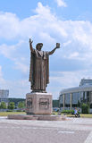 Monument to Francisk Skarina in Minsk Stock Photography