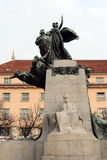Monument to František palacký Palacký square. Royalty Free Stock Photos