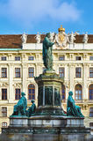 The Monument to Franz II Stock Images