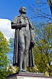 Monument to Friedrich Schiller. Kaliningrad (Koenigsberg before 1946), Russia Stock Photo