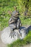 Monument to the frog-tsarevna in Kaliningrad Stock Photography