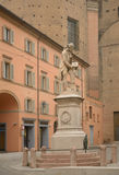 Monument to Galvani in Bologna, Italy Royalty Free Stock Photo