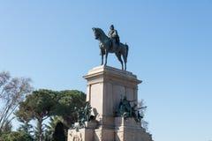 Monument to Garibaldi Royalty Free Stock Image