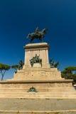 Monument to Garibaldi, Rome Stock Images
