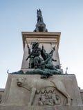 Monument to Garibaldi, Rome, Italy Stock Photography