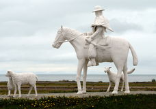 Monument to the Gaucho in Rio Grande. Stock Photo