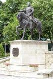 Monument to General Aleksey Petrovich Yermolov Stock Photo