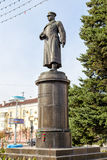 Monument to General of the Army Apanasenko. Belgorod. Russia. Belgorod, Russia - October 05, 2015: Monument to General of the Army Joseph Rodionovich Apanasenko Royalty Free Stock Images
