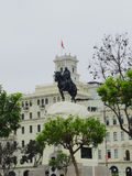 Monument to General Jose de San Martin. Royalty Free Stock Photo