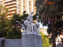 Monument to German immigrants. BUENOS AIRES - MARCH 30: Monument to German immigrants on March 30, 2013 in Buenos Aires Stock Photo