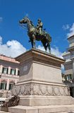 Monument to Giuseppe Garibaldi in Genoa (1893) Stock Photos