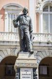 Monument to Giuseppe Garibaldi in Pisa Stock Photo
