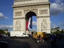 Monument to the glory of the French Revolution stock photo